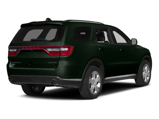Black Forest Green Pearlcoat 2015 Dodge Durango Pictures Durango Utility 4D Limited 2WD V6 photos rear view