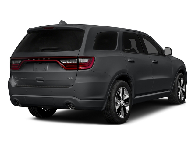 Granite Crystal Metallic Clearcoat 2015 Dodge Durango Pictures Durango Utility 4D R/T AWD V8 photos rear view