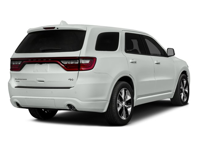 Bright White Clearcoat 2015 Dodge Durango Pictures Durango Utility 4D R/T AWD V8 photos rear view