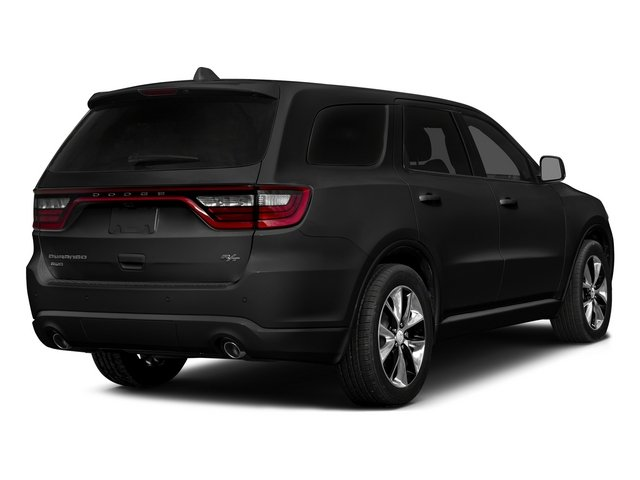 Brilliant Black Crystal Pearlcoat 2015 Dodge Durango Pictures Durango Utility 4D R/T AWD V8 photos rear view