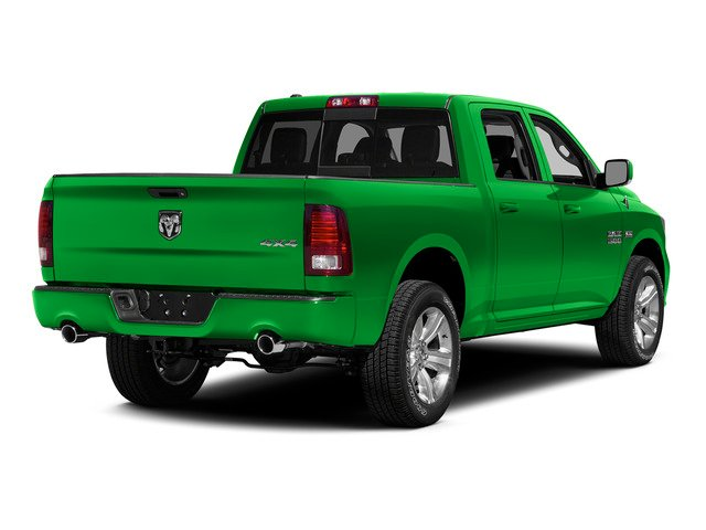 Hills Green 2015 Ram Truck 1500 Pictures 1500 Crew Cab SLT 4WD photos rear view