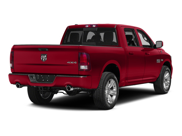Agriculture Red 2015 Ram Truck 1500 Pictures 1500 Crew Cab SLT 4WD photos rear view
