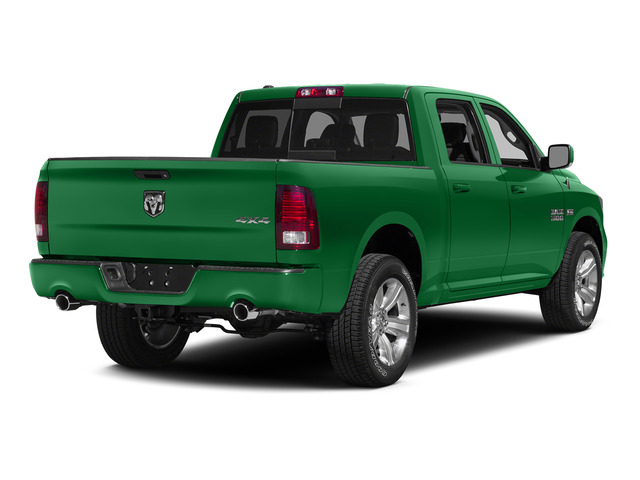 Bright Green 2015 Ram Truck 1500 Pictures 1500 Crew Cab Express 4WD photos rear view