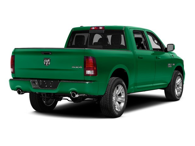 Bright Green 2015 Ram Truck 1500 Pictures 1500 Crew Cab SSV 4WD photos rear view