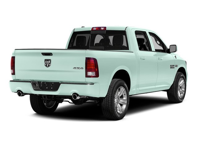 Robin Egg Blue 2015 Ram Truck 1500 Pictures 1500 Crew Cab SSV 4WD photos rear view