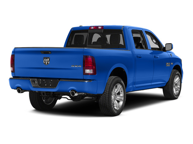 Holland Blue 2015 Ram Truck 1500 Pictures 1500 Crew Cab SLT 4WD photos rear view
