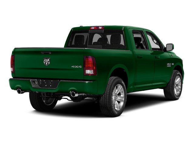 Tree Green 2015 Ram Truck 1500 Pictures 1500 Crew Cab SLT 4WD photos rear view