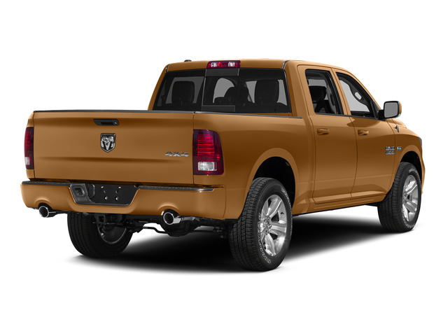 Power Tan 2015 Ram Truck 1500 Pictures 1500 Crew Cab SSV 4WD photos rear view