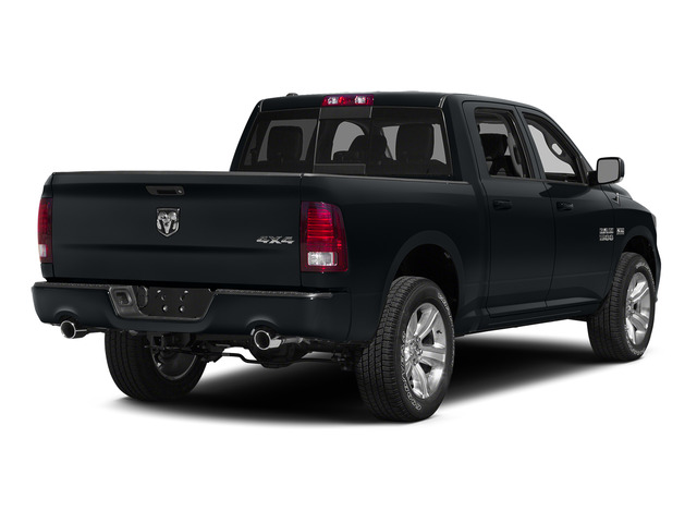 Maximum Steel Metallic Clearcoat 2015 Ram Truck 1500 Pictures 1500 Crew Cab SLT 4WD photos rear view
