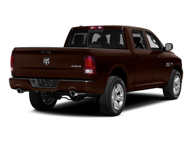 Western Brown 2015 Ram Truck 1500 Pictures 1500 Crew Cab Longhorn 2WD photos rear view