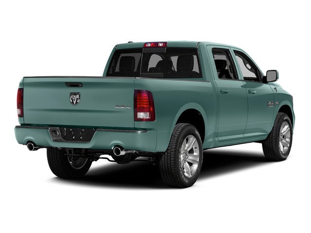 Light Green 2015 Ram Truck 1500 Pictures 1500 Crew Cab SSV 4WD photos rear view