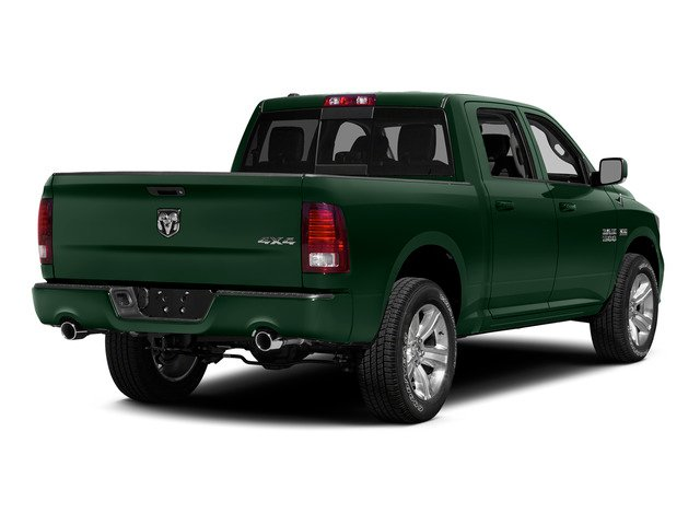 Timberline Green Pearlcoat 2015 Ram Truck 1500 Pictures 1500 Crew Cab SSV 4WD photos rear view
