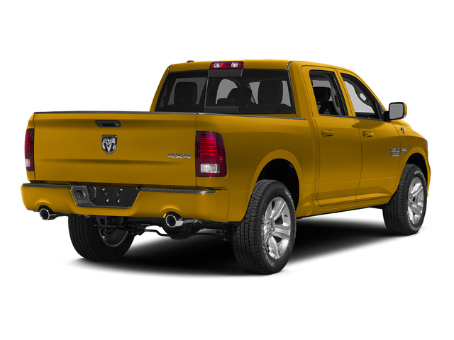 School Bus Yellow 2015 Ram Truck 1500 Pictures 1500 Crew Cab SSV 4WD photos rear view
