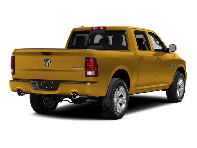 School Bus Yellow 2015 Ram Truck 1500 Pictures 1500 Crew Cab Express 4WD photos rear view