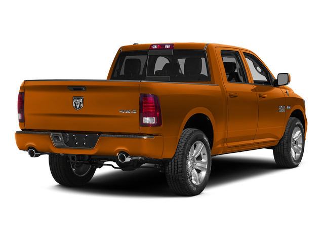 Ignition Orange Clear Coat 2015 Ram Truck 1500 Pictures 1500 Crew Cab Sport 4WD photos rear view