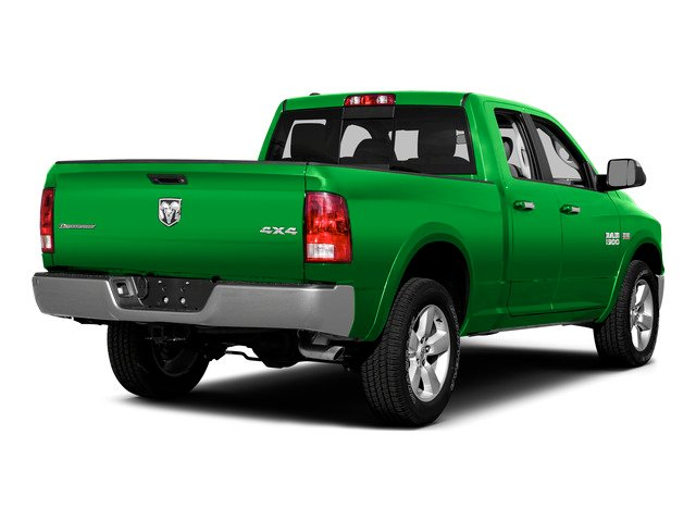 Hills Green 2015 Ram Truck 1500 Pictures 1500 Quad Cab Express 4WD photos rear view