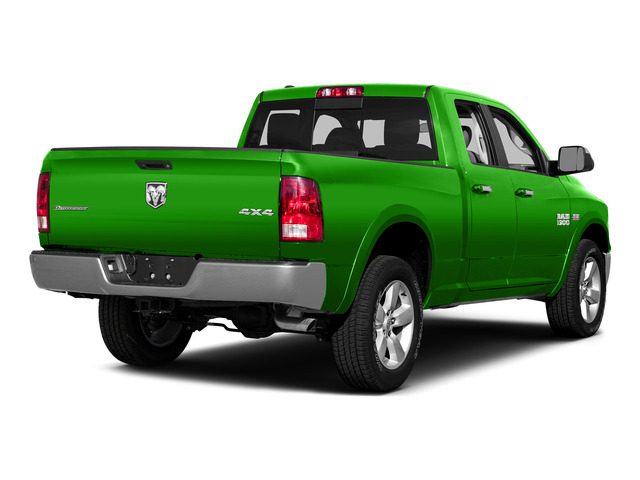 Hills Green 2015 Ram Truck 1500 Pictures 1500 Quad Cab SLT 4WD photos rear view