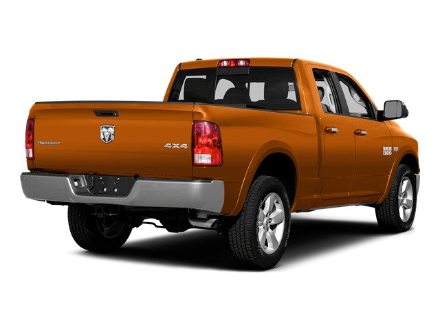 Omaha Orange 2015 Ram Truck 1500 Pictures 1500 Quad Cab SLT 2WD photos rear view