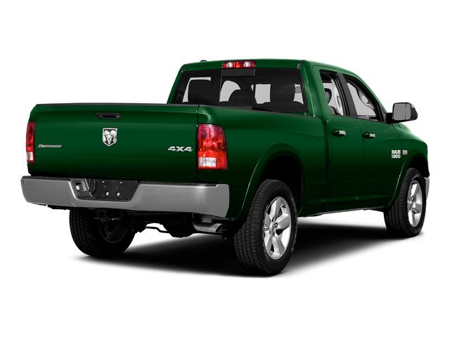 Tree Green 2015 Ram Truck 1500 Pictures 1500 Quad Cab SLT 2WD photos rear view