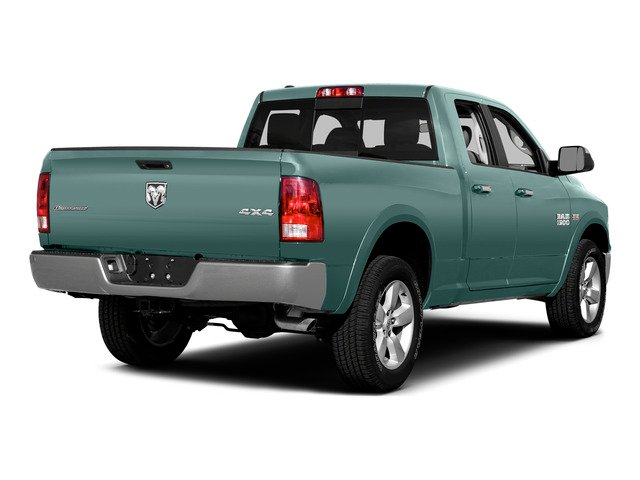 Light Green 2015 Ram Truck 1500 Pictures 1500 Quad Cab SLT 2WD photos rear view