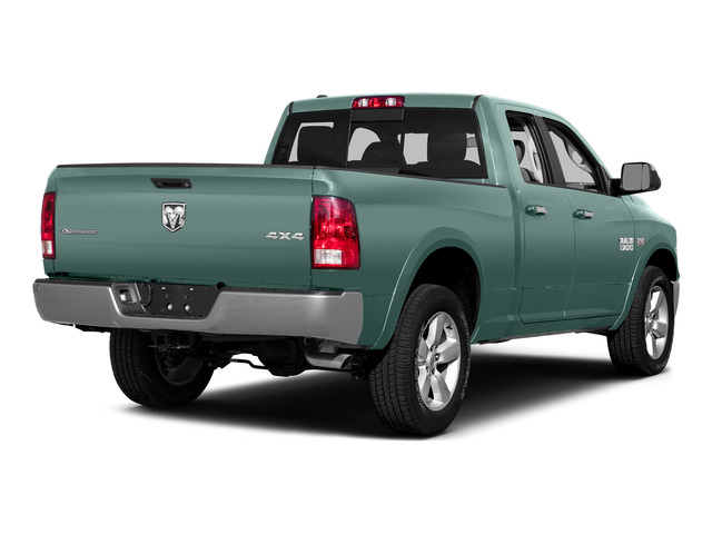 Light Green 2015 Ram Truck 1500 Pictures 1500 Quad Cab SLT 4WD photos rear view