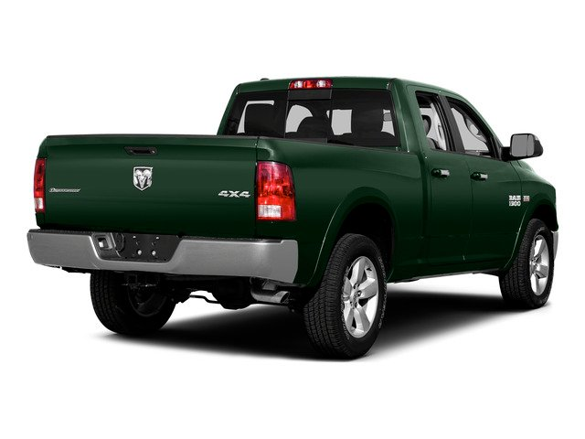 Timberline Green Pearlcoat 2015 Ram Truck 1500 Pictures 1500 Quad Cab Express 2WD photos rear view