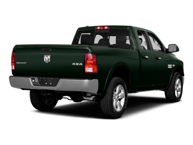 Black Forest Green Pearlcoat 2015 Ram Truck 1500 Pictures 1500 Quad Cab Express 2WD photos rear view