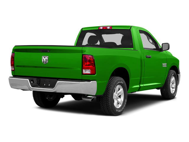 Hills Green 2015 Ram Truck 1500 Pictures 1500 Regular Cab SLT 4WD photos rear view