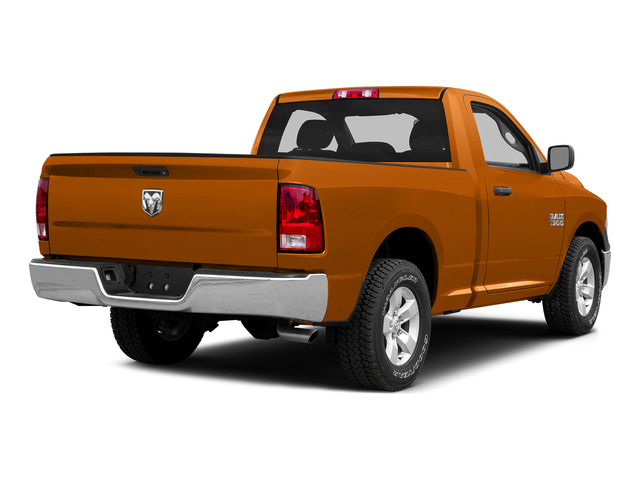 Omaha Orange 2015 Ram Truck 1500 Pictures 1500 Regular Cab SLT 4WD photos rear view
