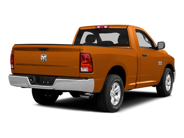 Omaha Orange 2015 Ram Truck 1500 Pictures 1500 Regular Cab SLT 2WD photos rear view