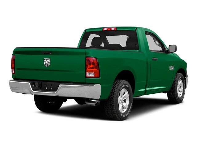 Bright Green 2015 Ram Truck 1500 Pictures 1500 Regular Cab SLT 4WD photos rear view