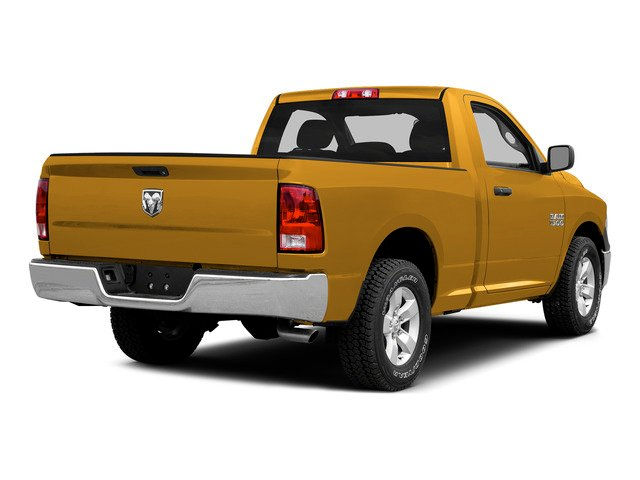 Construction Yellow 2015 Ram Truck 1500 Pictures 1500 Regular Cab SLT 4WD photos rear view