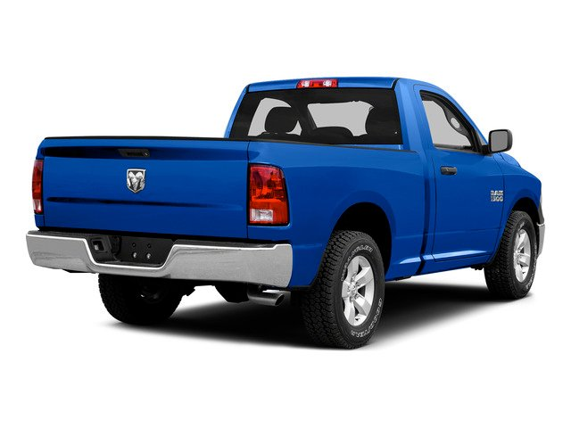 Holland Blue 2015 Ram Truck 1500 Pictures 1500 Regular Cab SLT 2WD photos rear view