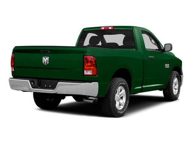 Tree Green 2015 Ram Truck 1500 Pictures 1500 Regular Cab SLT 4WD photos rear view