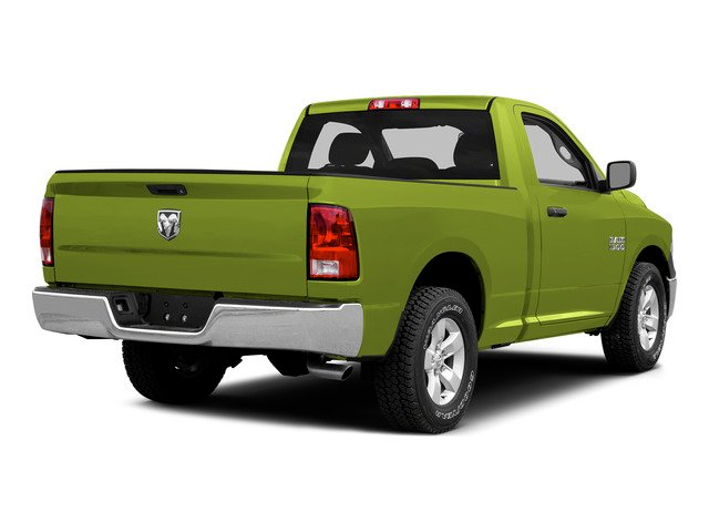 National Safety Yellow 2015 Ram Truck 1500 Pictures 1500 Regular Cab SLT 2WD photos rear view