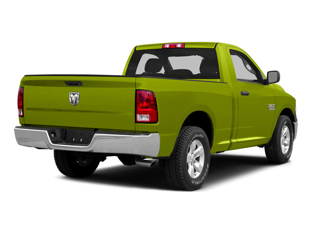 National Safety Yellow 2015 Ram Truck 1500 Pictures 1500 Regular Cab SLT 4WD photos rear view