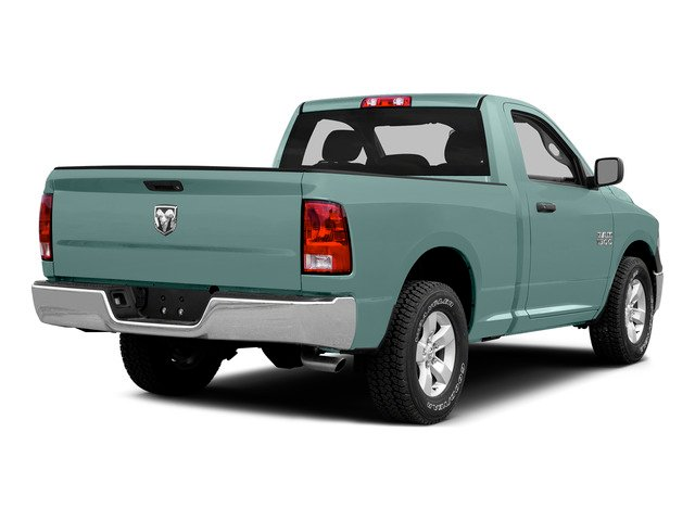 Light Green 2015 Ram Truck 1500 Pictures 1500 Regular Cab SLT 4WD photos rear view