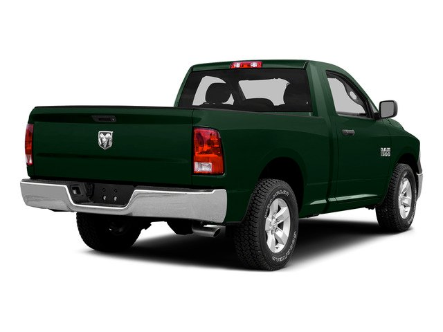 Timberline Green Pearlcoat 2015 Ram Truck 1500 Pictures 1500 Regular Cab SLT 4WD photos rear view