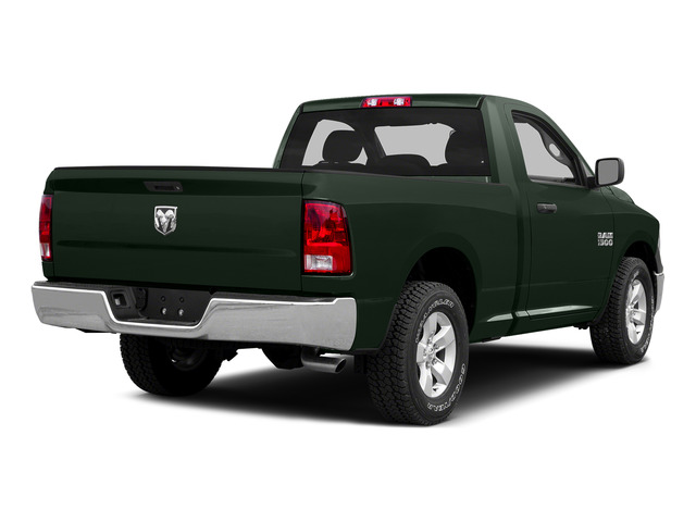 Black Forest Green Pearlcoat 2015 Ram Truck 1500 Pictures 1500 Regular Cab SLT 4WD photos rear view