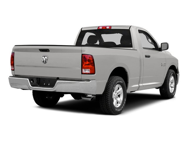 Bright Silver Metallic Clearcoat 2015 Ram Truck 1500 Pictures 1500 Regular Cab SLT 4WD photos rear view