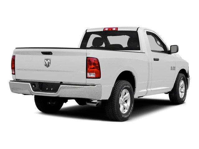 Bright White Clearcoat 2015 Ram Truck 1500 Pictures 1500 Regular Cab SLT 4WD photos rear view