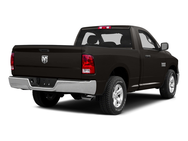 Brilliant Black Crystal Pearlcoat 2015 Ram Truck 1500 Pictures 1500 Regular Cab Sport 4WD photos rear view
