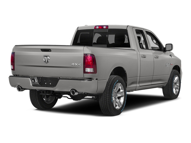 Bright Silver Metallic Clearcoat 2015 Ram Truck 1500 Pictures 1500 Quad Cab Sport 2WD photos rear view