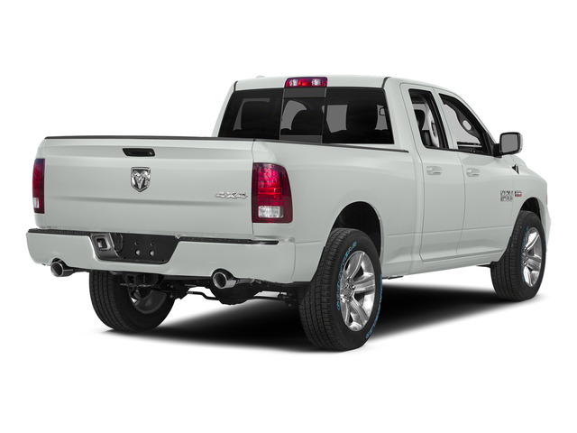 Bright White Clearcoat 2015 Ram Truck 1500 Pictures 1500 Quad Cab Sport 2WD photos rear view