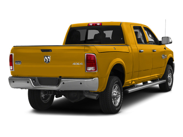 Construction Yellow 2015 Ram Truck 2500 Pictures 2500 Mega Cab SLT 2WD photos rear view