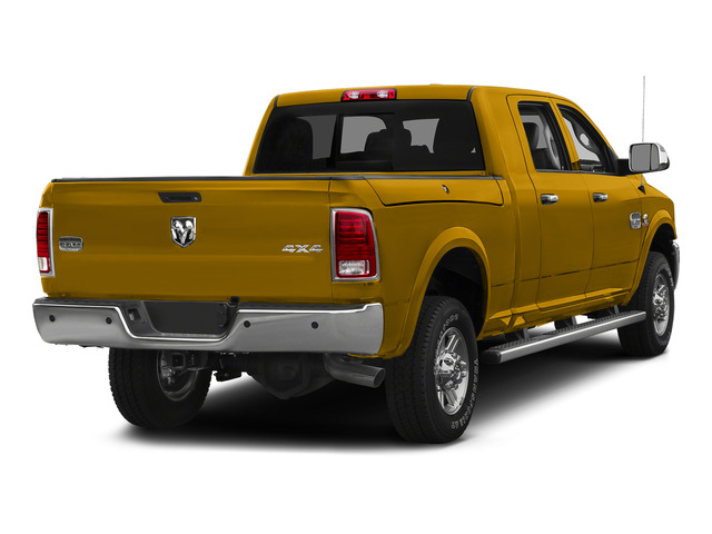 School Bus Yellow 2015 Ram Truck 2500 Pictures 2500 Mega Cab SLT 2WD photos rear view