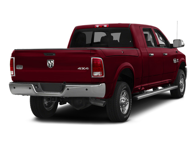 Deep Cherry Red Crystal Pearlcoat 2015 Ram Truck 2500 Pictures 2500 Mega Cab Limited 2WD photos rear view