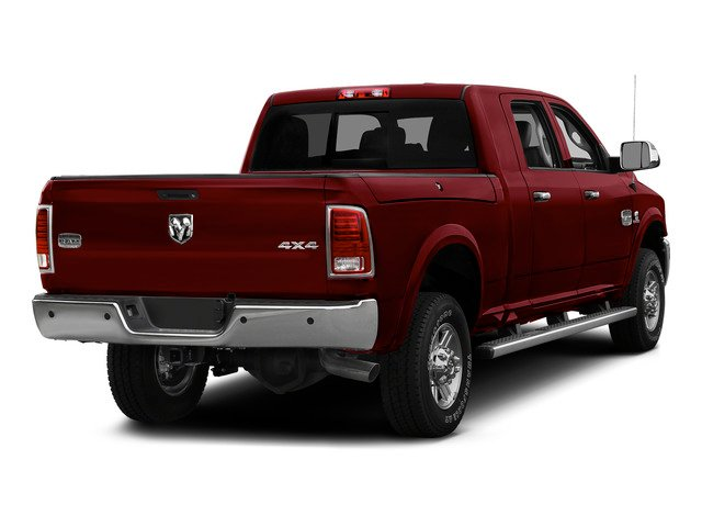 Deep Cherry Red Crystal Pearlcoat 2015 Ram Truck 2500 Pictures 2500 Mega Cab SLT 2WD photos rear view