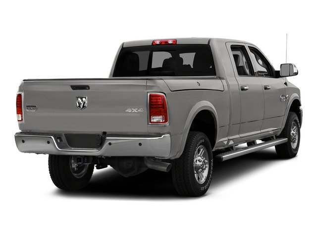 Bright Silver Metallic Clearcoat 2015 Ram Truck 2500 Pictures 2500 Mega Cab Limited 2WD photos rear view