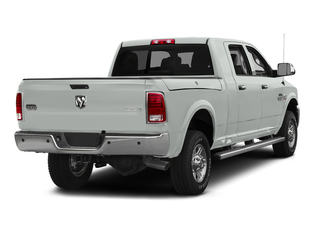 Bright White Clearcoat 2015 Ram Truck 2500 Pictures 2500 Mega Cab Limited 2WD photos rear view